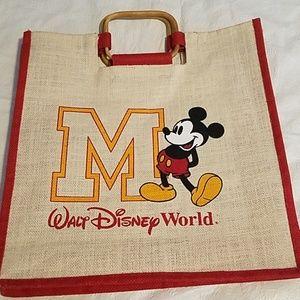 Walt Disney World Mickey Mouse Tote Bag